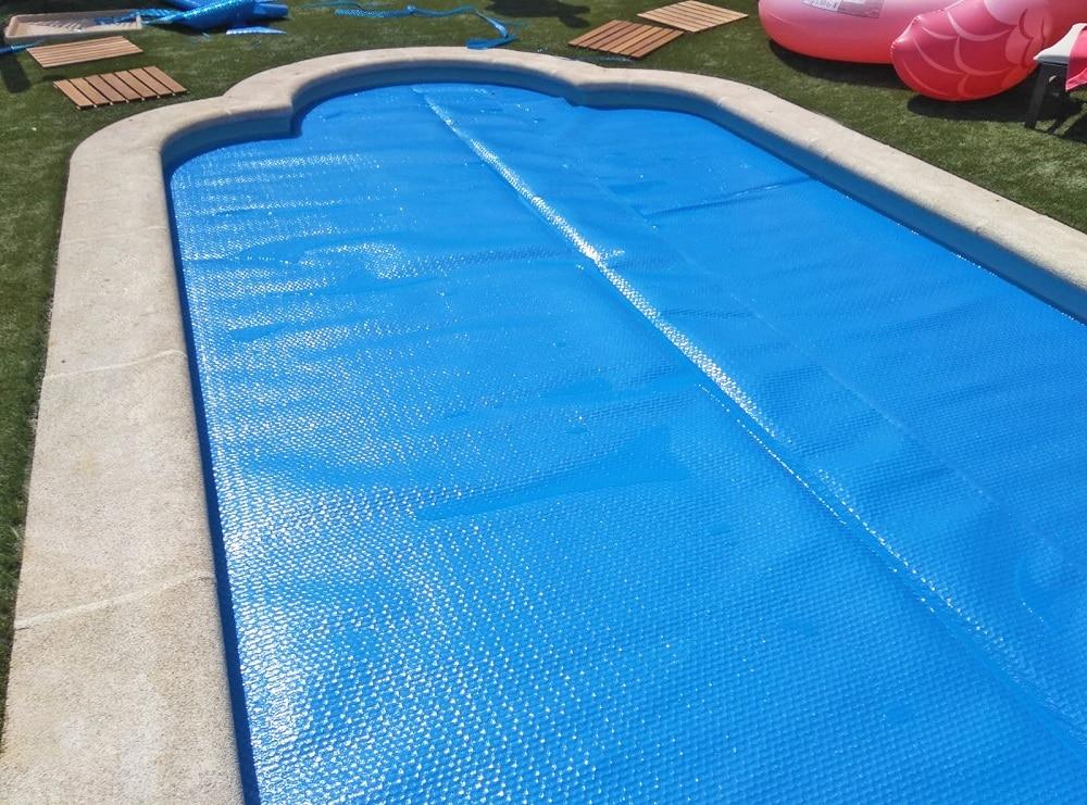 cobertor piscina burbujas