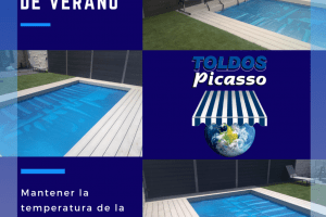 cobertores de verano para piscinas