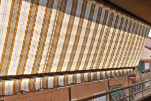 toldo sin cofre balcón