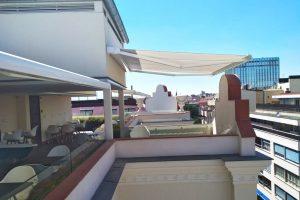 toldo cofre terraza